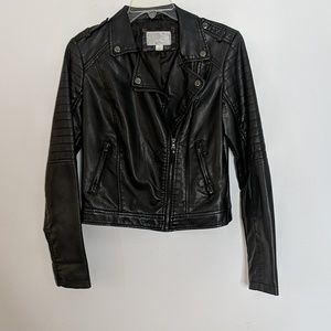 Xhilaration faux leather jacket
